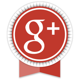 Google+ Round Ribbon