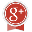 Google+ Round Ribbon Icon