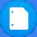 Google Docs flat circle-128