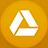 Google Drive flat circle-48