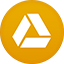 Google Drive flat circle icon