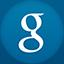Google flat circle icon