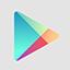 Google Play flat icon