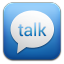 Google Talk Blue icon