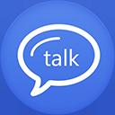 Google Talk flat circle-128