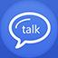 Google Talk flat circle icon