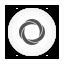 Googlecurrents white round Icon