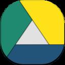 Googledrive Flat Round
