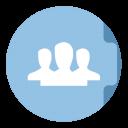 Group Folder Circle-128