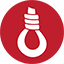 Hangman Game red icon