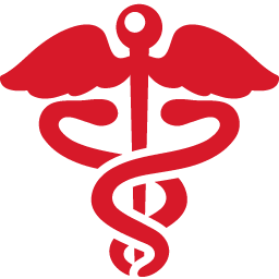 Health Sign red