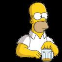Homer Simpson Beer-128
