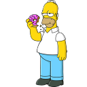 Homer Simpson Donut-128