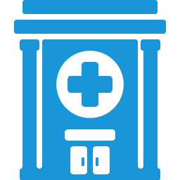 Hospital Blue Icon Download Health Icons Iconspedia