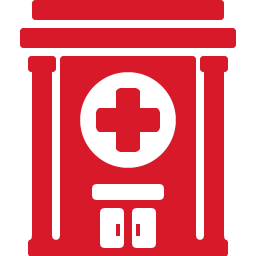 Hospital red