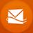 Hotmail flat circle-48