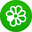 Icq flat circle Icon