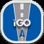 Igo Flat Round Icon