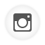 Instagram white round icon