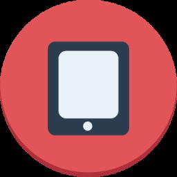 Ipad Icon Download 12 Flat Icons Iconspedia