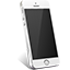 iPhone 5S Silver icon