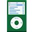 iPod flat green Icon