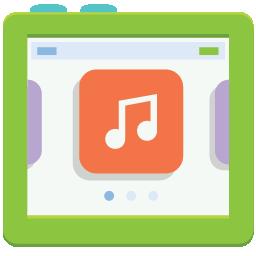 iPod Nano flat