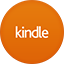 Kindle flat circle icon