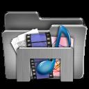 Library For Windows Steel Folder-128