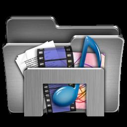 Library For Windows Steel Folder