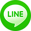 Line flat circle icon