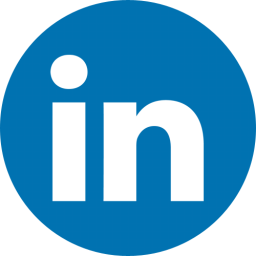 Image result for round linkedin icon