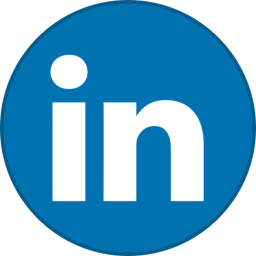 Linkedin Round With Border