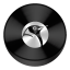 Linux Black Drive Circle icon